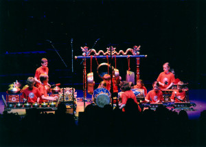 St Andrew's Gamelan Club at the Royal Albert Hall, 2008